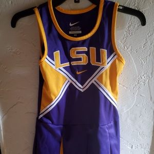 LSU YOUNG LADIES CHEERLEADING OUTFIT SIZE 6X